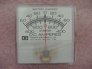 Amp Gauge DC Amperes 091-8 Magnetic Induction (1 PER)