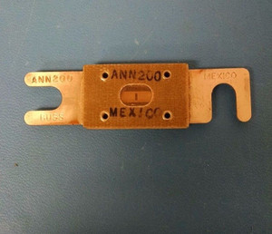 ANN200 Buss Fuse VERY FAST BLOW ELECTRIC FUSE, 200A (1 PER)