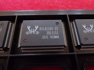 RTL8110S-32 REALTEK LAN Node Controller, 128 Pin, QFP