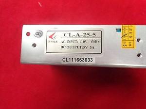 CL-A-25-5 AC INPUT 110V 50HZ DC Output 5V 5A AC DC Converters AC 110-5V DC