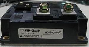 CM1000HA-24H MITSUBISHI 1000A, 1200V, N-CHANNEL IGBT (1 PER)