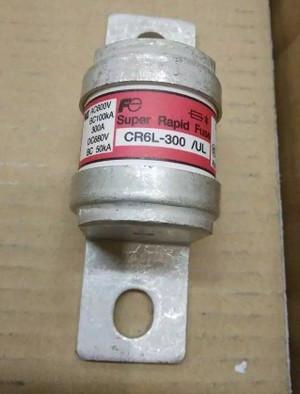 CR6L-300/UL Fuji SUPER FAST BLOW ELECTRIC FUSE, 300A (1 PER)