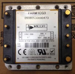 FARM1CG3 VICOR 1-OUTPUT 750W AC-DC UNREG PWR SUPPLY MODULE (1 PER)
