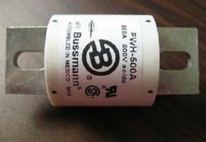 FWH-500A Bussmann ELECTRIC FUSE, 0.5A, 500VAC, 500VDC (1 PER)