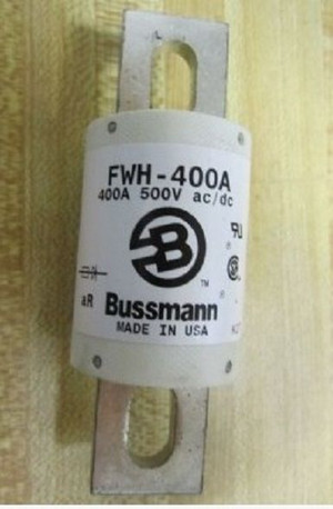 FWH-400A Bussmann ELECTRIC FUSE, 400A, 500VAC (1 PER)