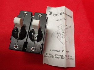 M68-X2Q212-2 Circuit Breaker Magnetic Hydraulic 2Pole 2Amps 277VAC/480VAC(1 PER)