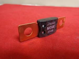 mega250a Littlefuse 250 Amp The MEGA® Fuse is designed for high current circuit
