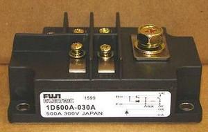 1D500A-030A Fuji 500A, 300V, NPN, Si, POWER TRANSISTOR (1 PER)