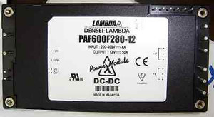 PAF600F280-12 DC-DC 1-OUT 12V 50A 600W 16-Pin By Lambda Corporation (1 PER)