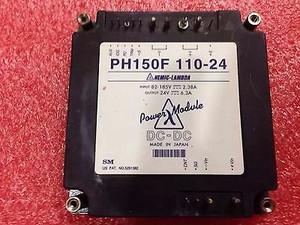 PH150F110-24 Lambda POWER SUPPLY, 150W POWER (1 PER)
