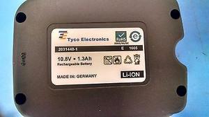2031440-1 Tyco AMP BATTERY,RECHARGABLE, 10.8 VDC