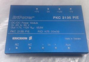 PKC2135PIE Ericsson 3-OUTPUT 15W DC-DC REG PWR SUPPLY MODULE (1 Per)
