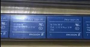 PKV3321PI Ericsson DC/DC PS DUAL-OUT 12V/-12V 0.125A 3W (1 PER)
