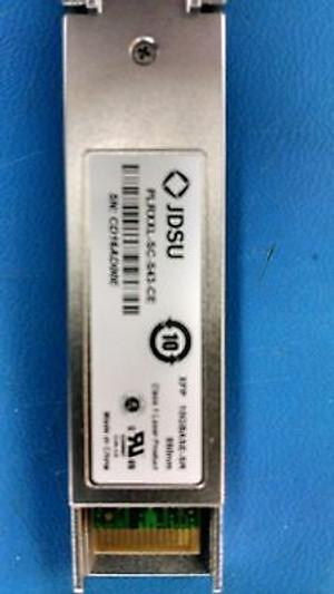 PLRXXL-SC-S43-CE 10Gbase-SR 850nm Transceiver Module JDSU (1 PER)