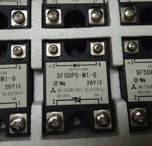 SF5DPS-M1-6 Mitsubishi TRIGGER OUTPUT SOLID STATE RELAY (1 PER)