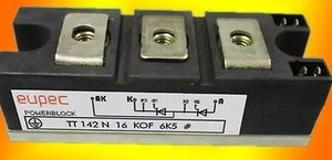 TT142N16KOF Eupec Discrete Semiconductor Modules 1600V 230A DUAL (1 PER)