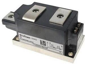 TT250N16KOF Discrete Semiconductor Modules 1600V 410A DUAL Infineon (1 PER)