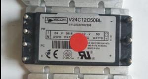 V24C12C50BL Vicor 1-OUTPUT 50W DC-DC REG PWR SUPPLY MODULE (1 Per)