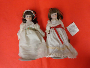 Vintage Gorham Porceline Dolls 2 Dolls. Both dolls per purchase.