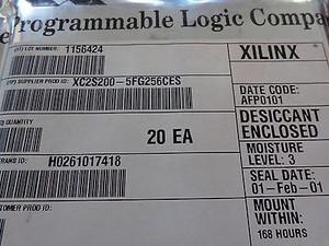 XC2S200-5FG256C - XILINX - IC FPGA 2.5V C-TEMP 256-FBGA US STOCK
