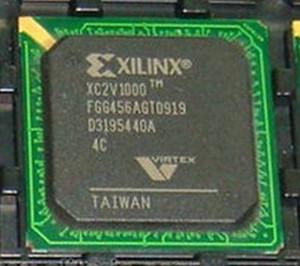 XC2V1000-4FGG456C Xilinx 1M Gates 11520 Cells 650MHz 0.15um/0.12um (1 PER)
