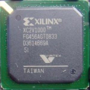 XC2V1000-5FG456I IC FPGA 324 I/O 456FBGA Xilinx Industrial Grade Temp
