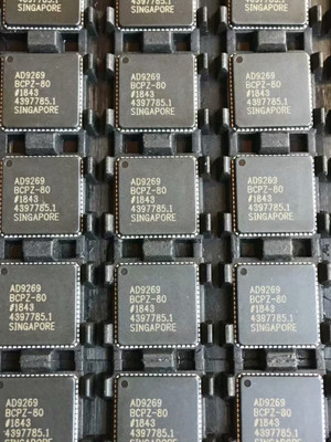 AD9269BCPZ-80 Analog DevicesDual Channel Dual ADC Pipelined 80Msps 16-bit Parallel/Serial (3-Wire, SPI) 64-Pin