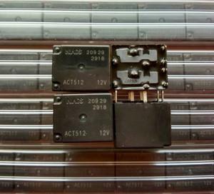ACT512-12V Panasonic Electromechanical Relay, SPDT, 16VDC