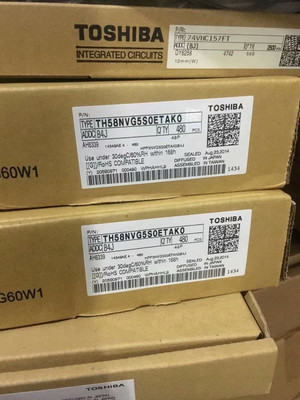 TH58NVG5S0ETAK0 Toshiba SLC NAND Flash 3.3V 32G-bit 4G x 8 48-Pin TSOP-I