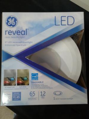 83572 GE Reveal LED Recessed Light Kit