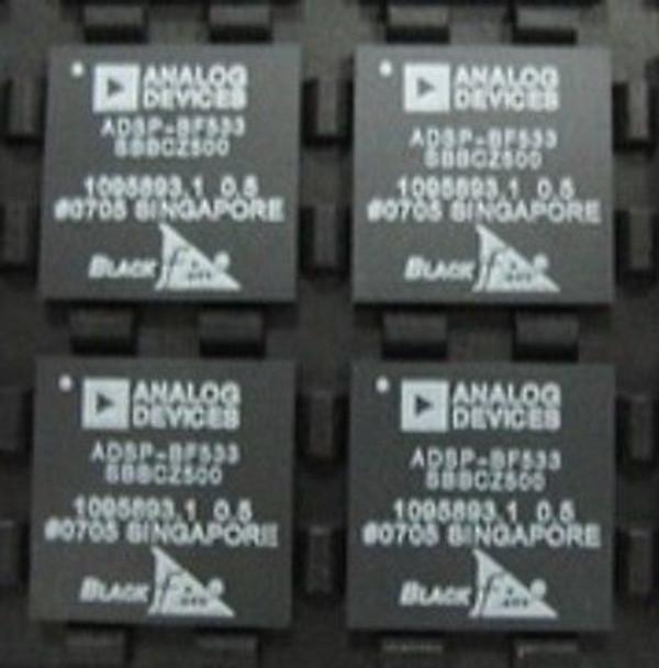 ADSP-BF533SBBCZ500 ADI (Analog Devices, Inc ) IC DSP CTLR 16B (1 PER)