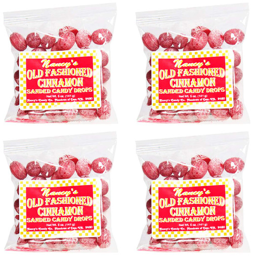 Made In USA Old Fashioned Sanded Candy Drops (5 oz - Pack of 4) 1.25 lbs