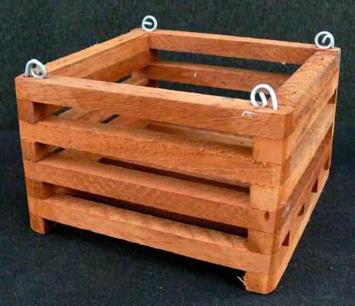 "Wood Vanda Baskets (square)  6"""