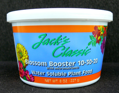 Jack's Classic Bloom Booster 10-30-20 fertilizer
