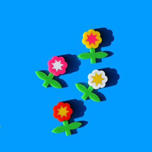 Mini Flower Brooch