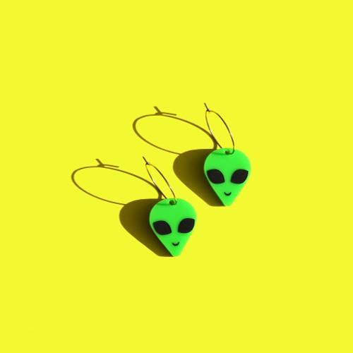 Alien Mini Hoop