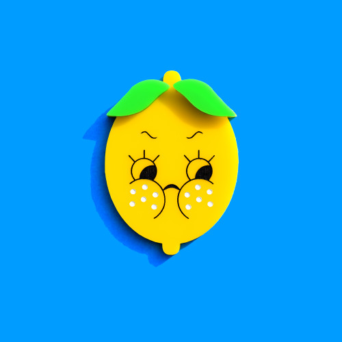 Sour Lemon Brooch