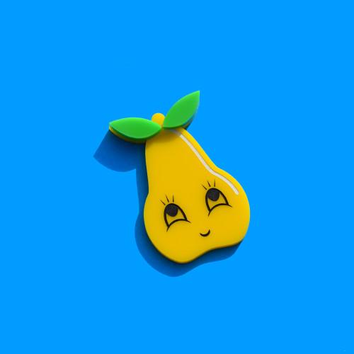 Happy Pear Brooch