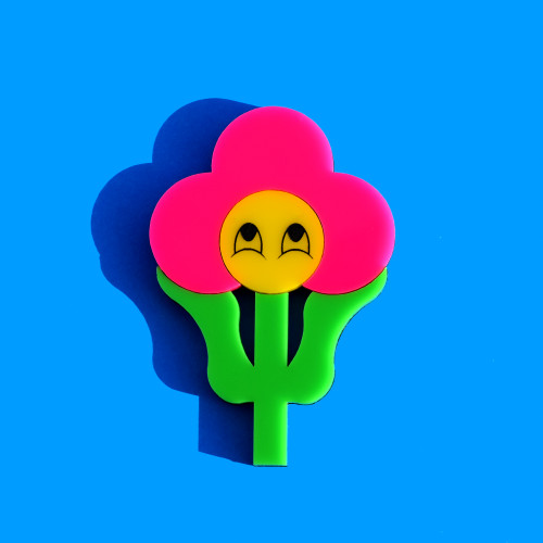 Cheerful Flower Brooch
