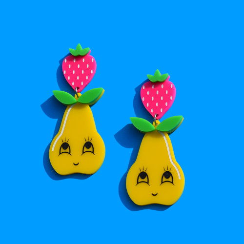 Happy Pear Earrings