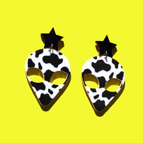 Cow Print Alien