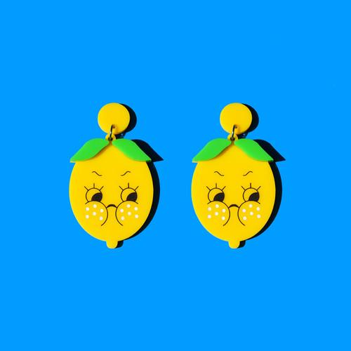 Sour Lemon Earrings