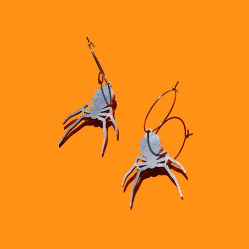 Spider Charm Earrings