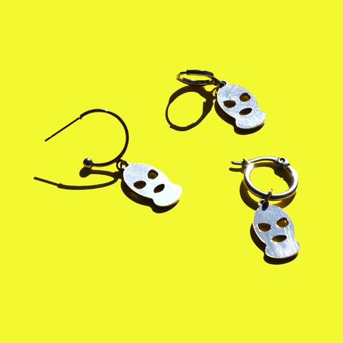 Balaclava Charm Earrings