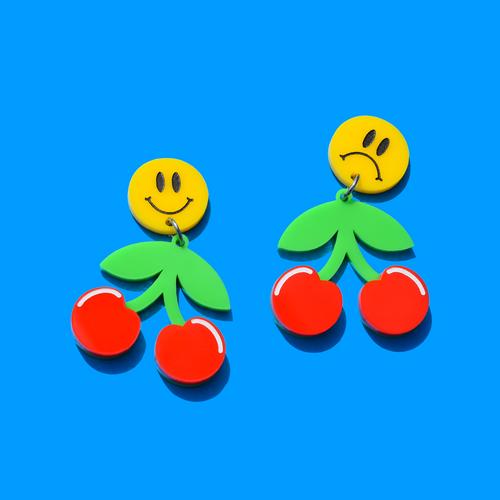 Smiley Cherry Drop