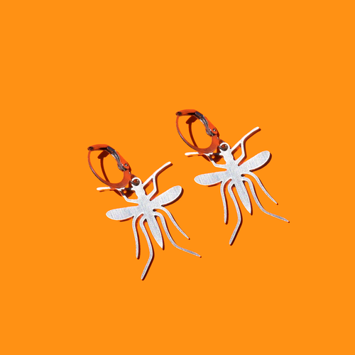 Mosquito Charm Earrings