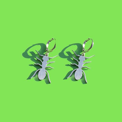 Ant Charm Earrings