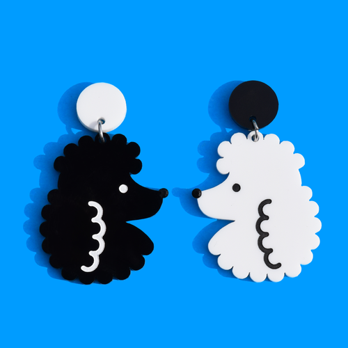 Poodle Earrings