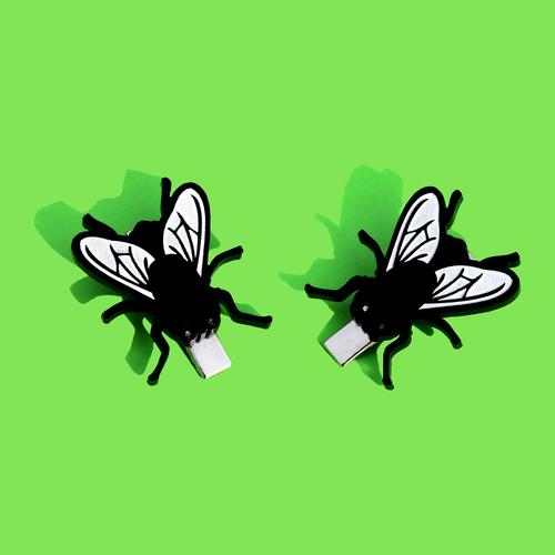 Fly Hair Clips