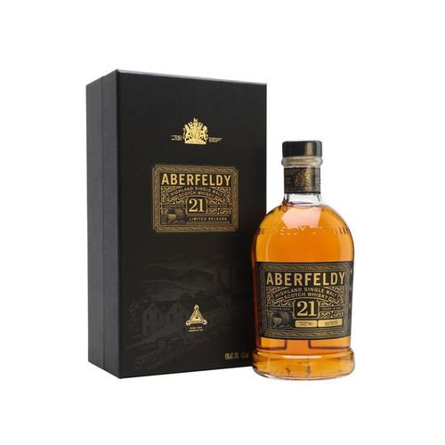 Aberfeldy 21 Year Old Single Malt Scotch Whisky 750mL